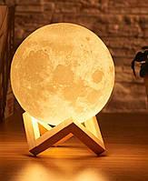 Светильник ночник детский Луна 3D Moon Light