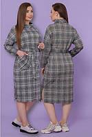 Женское теплое платье большого размера, фото 1