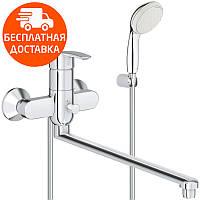 Смеситель для ванны с длинным изливом Grohe Multiform 3270800A хром