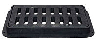 Решетка дорожная пластмассовая ДБ 790х400х80 мм (ХП) 12 тонн
