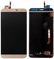 Дисплей (экран) для телефона Cubot Note S + Touchscreen Gold