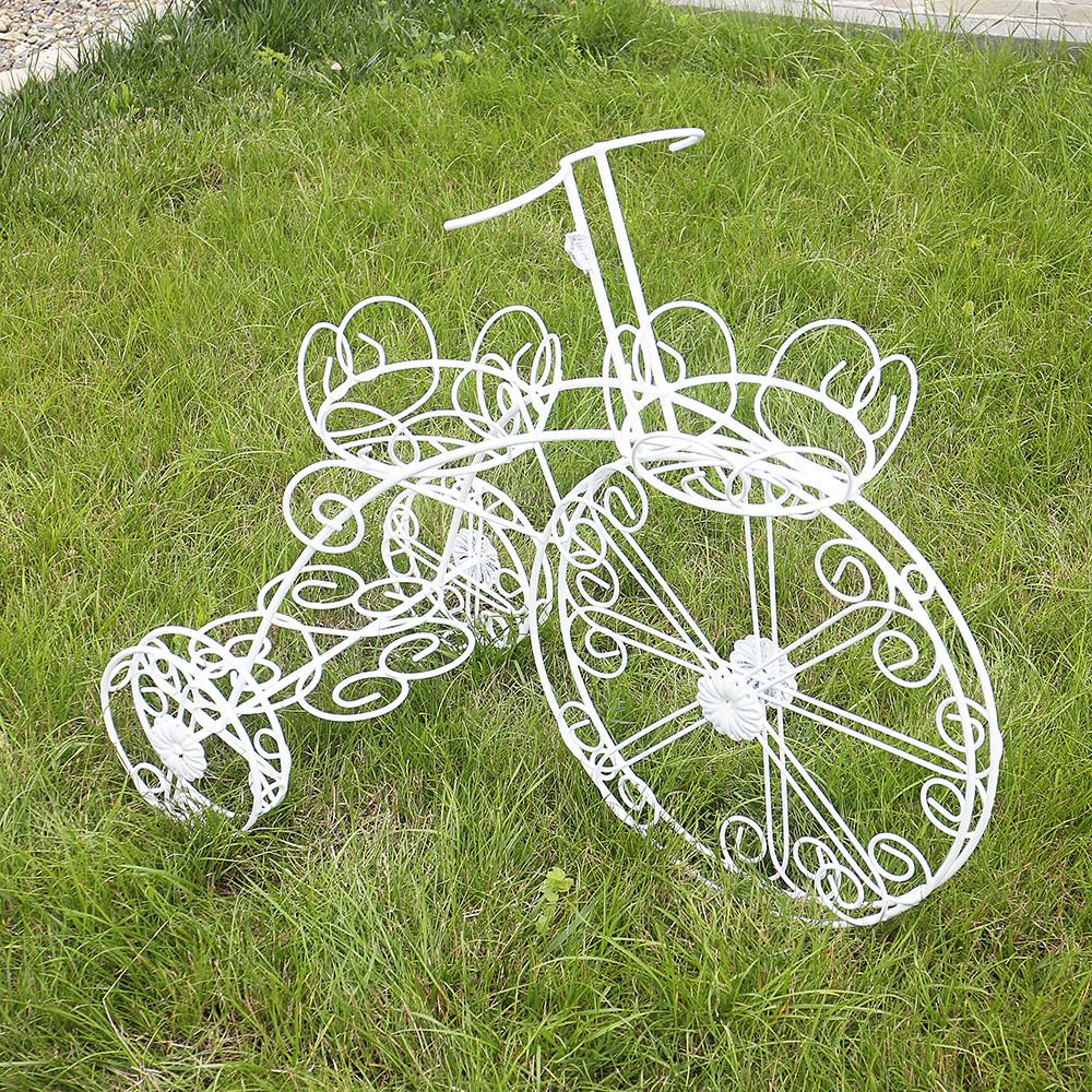 Кашпо велосипед 3-х колёсный 70 см 10901623