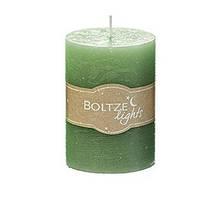 Свічка зелений віск h10 d7см 1008623