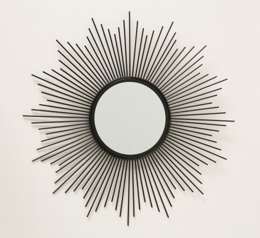 Настенное зеркало Бруклин d50см металл 1017241 солнце