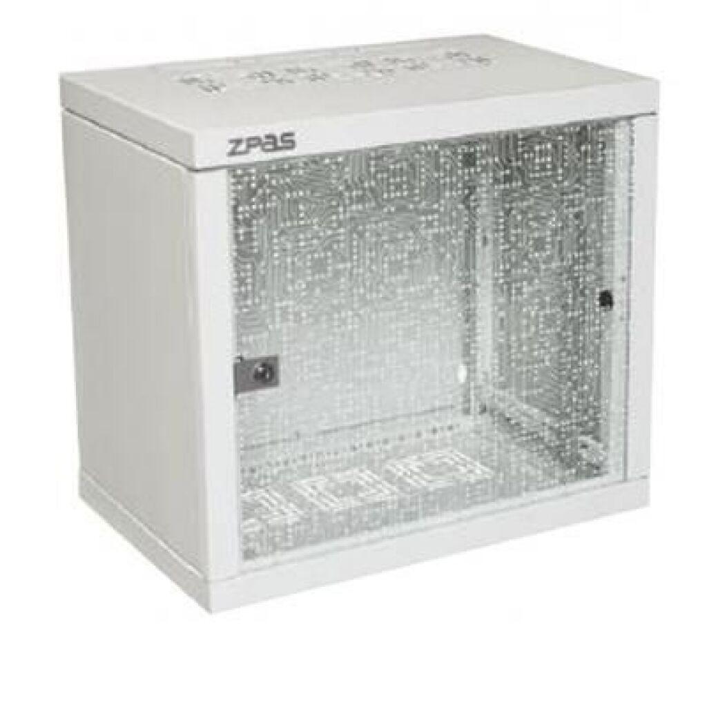 "Шкаф настенный Zpas 10U 19"" 600x600 mm (WZ-7240-20-A2-011)"