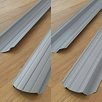 Штакетник Серый Корея двух сторон рал 9006 глянец 0,45 мм