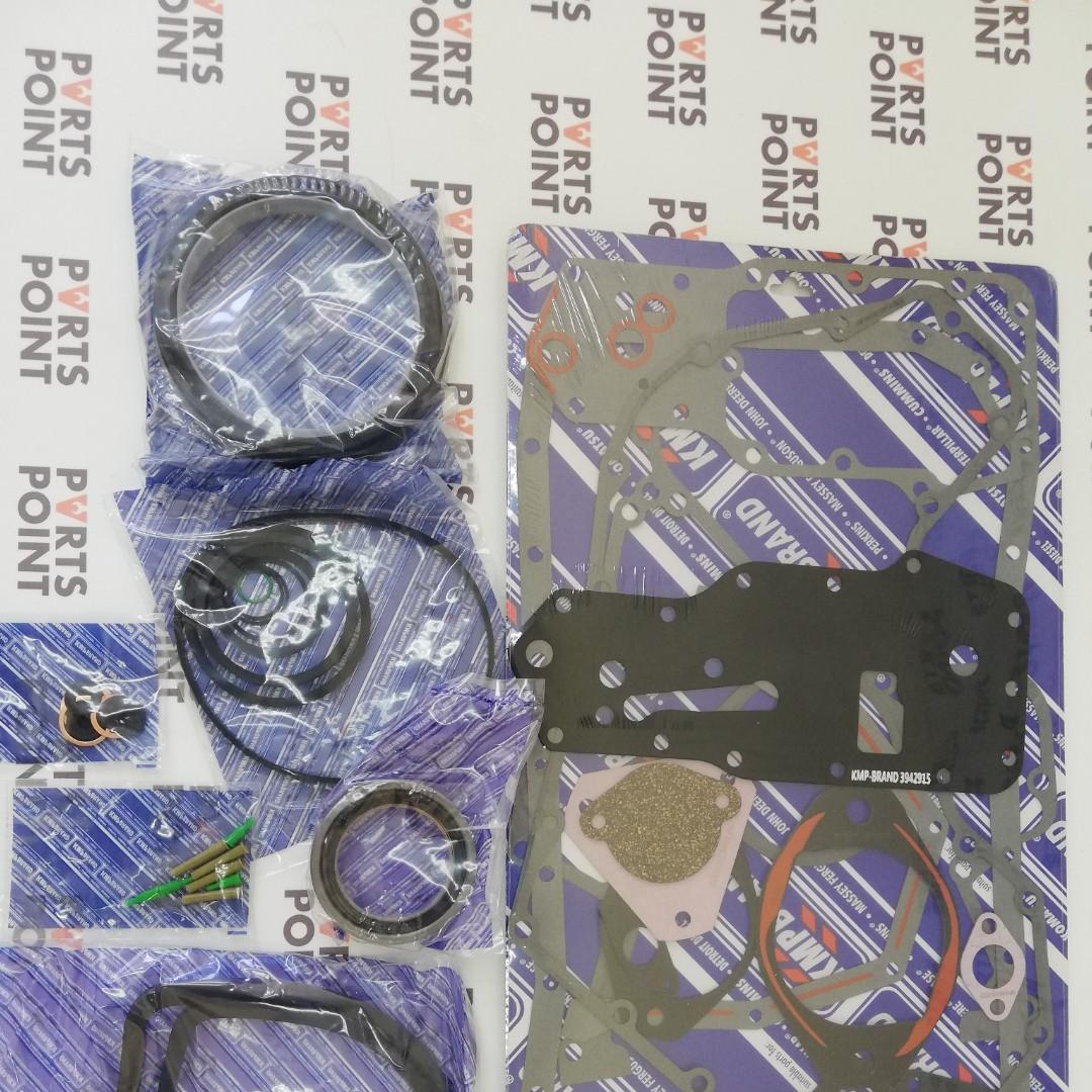 Нижній комплект прокладок Cummins 6В, 6BT 3802376, 3802267, 3802029