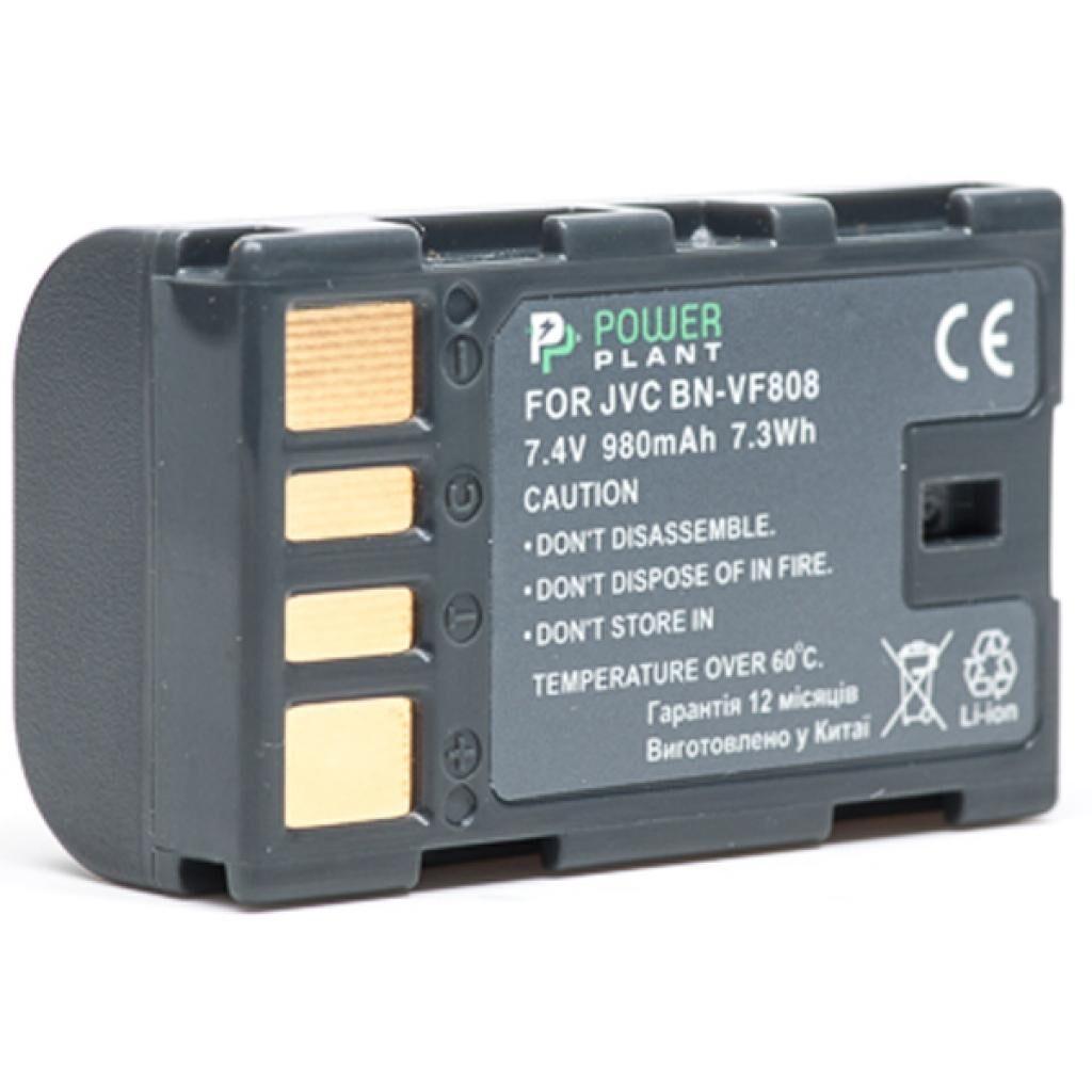 Аккумулятор к фото/видео PowerPlant JVC BN-VF808 (DV00DV1196), фото 1