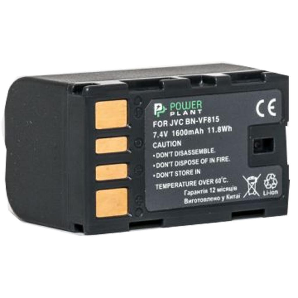 Аккумулятор к фото/видео PowerPlant JVC BN-VF815 (DV00DV1221)