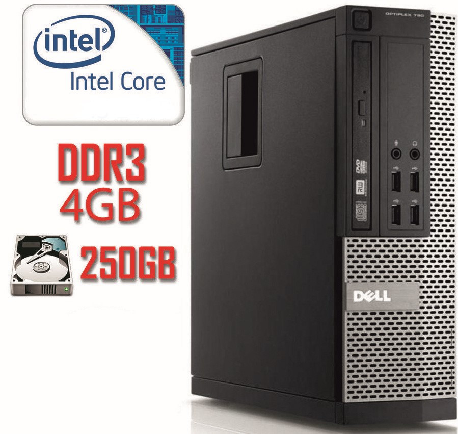 Системный блок DELL 790 SFF i3-2120/DDR3 4Gb/250Gb