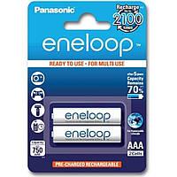 Аккумулятор PANASONIC Eneloop AAA 750mAh NI-MH * 2 (BK-4MCCE/2BE)