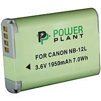 Аккумулятор к фото/видео PowerPlant Canon NB-12L (DV00DV1404)