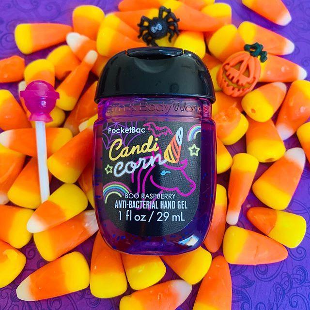 Антибактериальный гель для рук Bath&Body Works Candi Corn Boo Raspberry