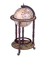 Глобус бар напольный  330мм-Зодиак 33001N глобус-бар высота 90 см
