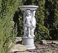 Садовая фигура скульптура для сада Три Ангела 34.5X34.5X75.5cm SS12075-22 статуя