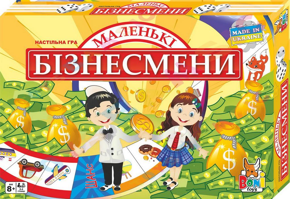 """Наст. игра """"Маленькие бизнесмены"""" Бамсик /10/"""