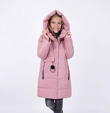 Детский зимний пуховик для девочки от PUROS PORO | 110-134р., фото 3