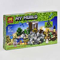 """Конструктор Lele My World 33231 (24) """"Падение башни"""", 800 деталей, в коробке"""