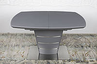 Стол обеденный ATLANTA (Атланта) 120/160 графит от Niсolas (бесплатная доставка)