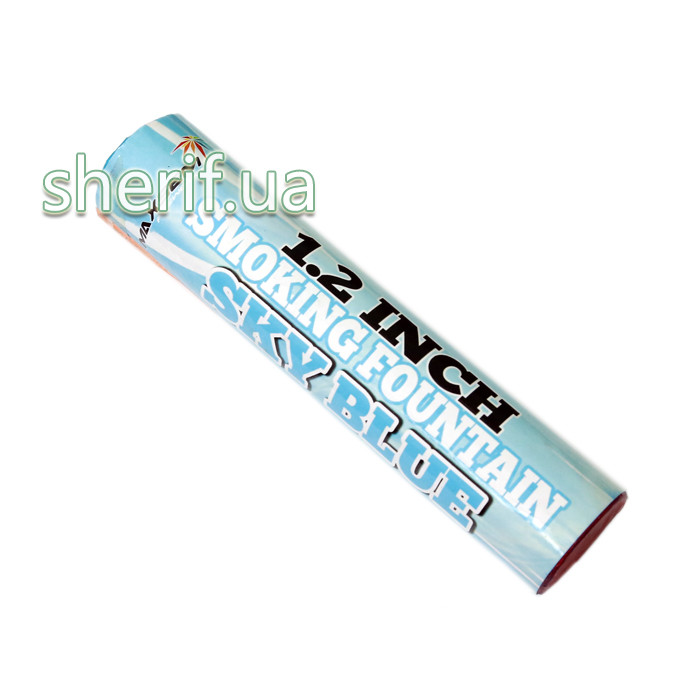 Дым цветной факел Sky Blue Голубой 60 сек MA0513/S  12330