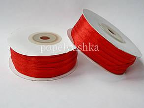 Стрічка атласна 0,3 см червона (10м)