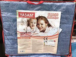 Электрическая простынь двуспальная 120*160 Турция, фото 2