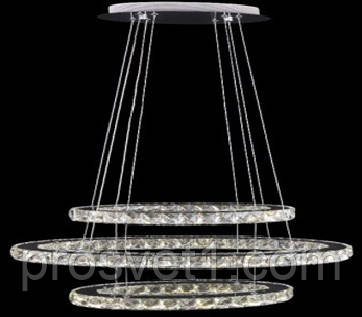 Люстра Melody підвісна LED X1806/3 хром