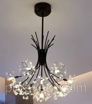 Люстра Melody підвісна LED KP-9852 хром