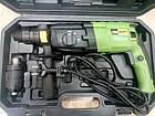 Перфоратор прямий ProCraft BH-1400 DFR + Болгарка ProCraft PW 125 1100, фото 3