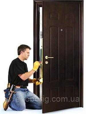 Монтаж входной двери, фото 2