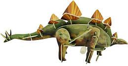 Заводной 3D пазл Стегозавр Hope Winning HWMP-41