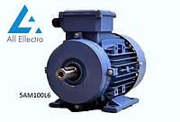 Электродвигатель 5АМ100L6 2,2 кВт 1000 об/мин, 380/660В