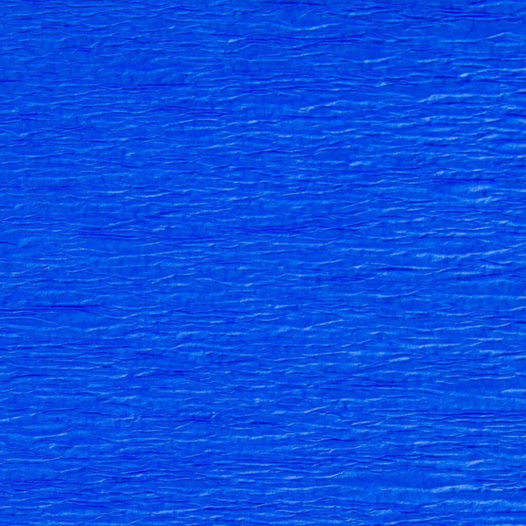 Креп гофро бумага 30 гр/м2 №17 синяя