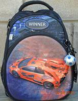 Рюкзак для мальчика winner 1701+ брелок мяч