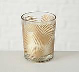 Набор подсвечников 3х h6 d5см золотое стекло 1009920 подсвечники комплект подсвечник стакан, фото 4