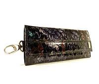 Ключница кожаная Desisan 204 питон, расцветки в наличии, фото 1