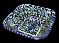 Узбекская керамическая посуда. Салатник. Ширина 13 см