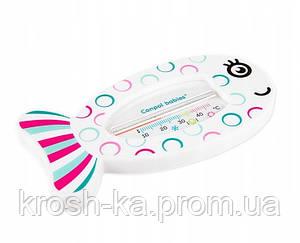 Термометр для воды Рыбка розовый Canpol Babies Польша 56\151