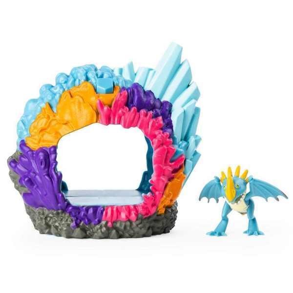 Dragons Игровой набор Логово дракона Громгильды - Как приручить дракона 3, SM66624/2125