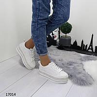 Женские кроссовки на высокой платформе, фото 1