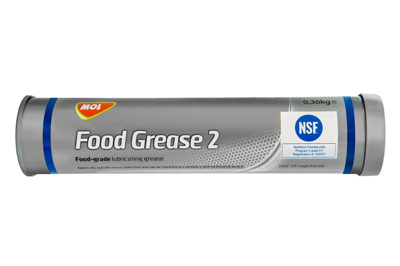 Консистентная смазка для пищевой промышленности MOL FOOD GREASE 2 400г