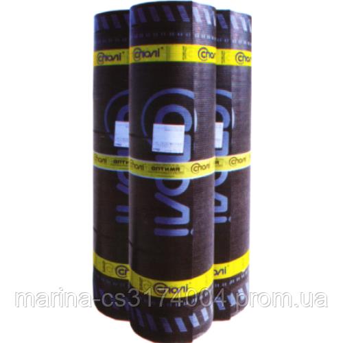 Еврорубероид СПОЛИ Оптима К (ЕКП) 4,0 сланец серый, верхний шар, 10 м.кв