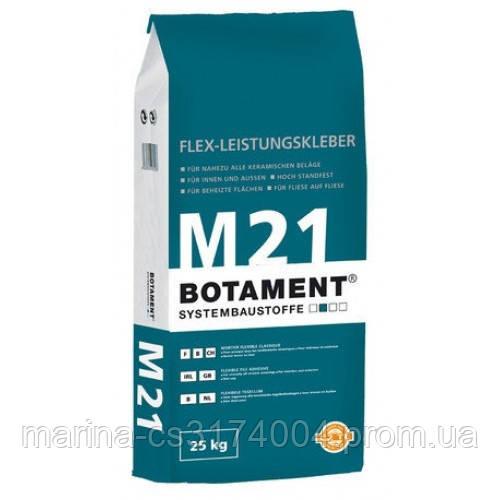 Botament  Эластичная клеющая смесь М21, 25кг