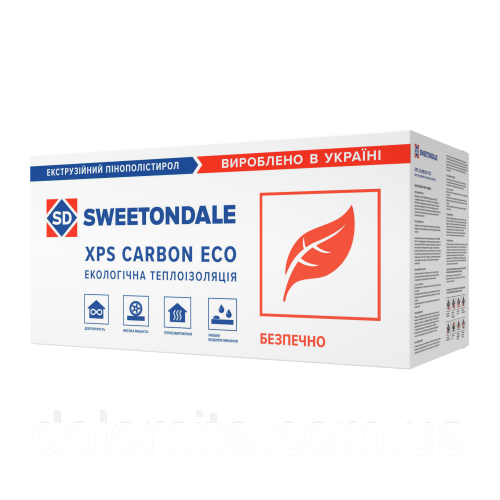 Экструзионный пенополистирол CARBON ECO FAS/2 S2 1180*580*50 (8 листов в уп.), шт