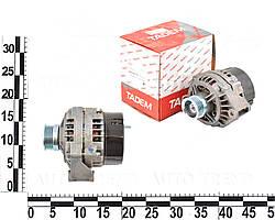 Генератор ВАЗ 2123, с 09/03г., с верхняярасположением двигателя , (14В, 80А) (9402.3701000-01). 9402.3701-01 (КАТЭК)