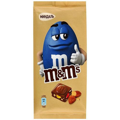 Шоколадка M&M's Миндаль 122 g