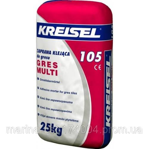 Kreisel 105 Клейова суміш для керамограніта 25кг (42)