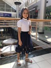 Школьная юбка для девочки Школьная форма для девочек Colabear Турция 184037 Синий