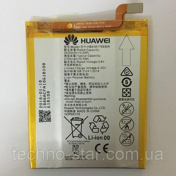 Оригинальный аккумулятор (АКБ, батарея) HB436178EBW для Huawei Mate S 2700mAh