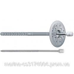 Дюбель для ізоляції/металліч.прут термо  10/180 (250 шт/уп)
